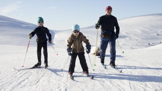 Paras hiihtokausi on vasta edessä