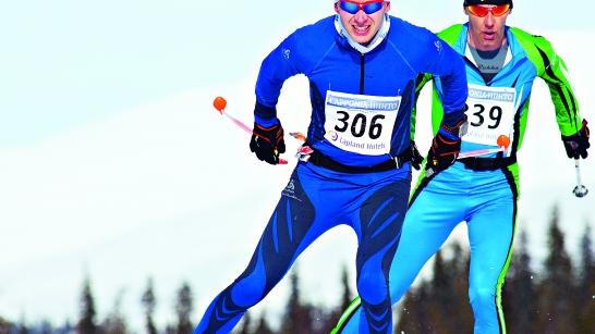 Aikuisten hiihtokurssi, luisteluhiihdon tekniikat maastossa