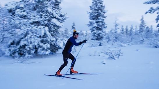 Aikuisten hiihtokurssi, luisteluhiihdon jatko